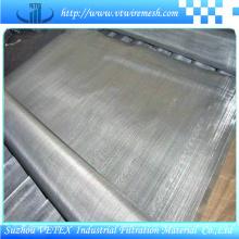 Malha de filtro de aço inoxidável usada para indústrias de mineração