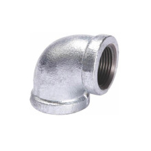 Galvanized hot dip 90 degree elbow