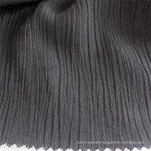 Spandex Rayon Fabric Black Crepe Viscose Cloth for Garments
