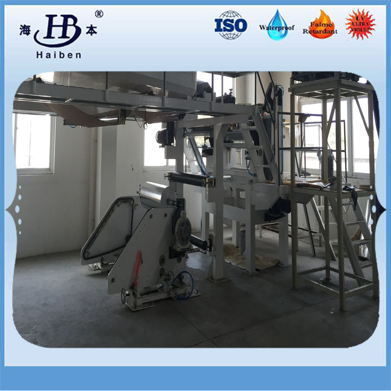 machine of aluminized fiberglass fabric-10