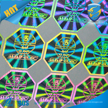 Tamper Evident VOID seguridad Sello Label Holograma Sticker