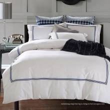 100% хлопок или T / C 50/50 / Отель вышивки / домашний комплект постельного белья (WS-2016001)