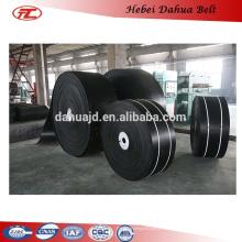 DHT-162 EP fabric rubber flat belt/conveyor belt price china manufactur