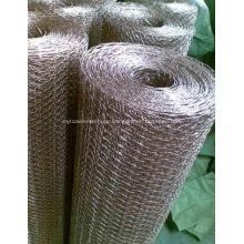 malla de alambre hexagonal galvanizada