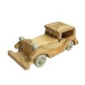 FQ marca alta emulational decoración del hogar modelo juguete de madera coche