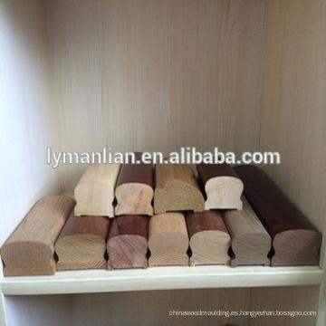 Pasamano de roble rojo / escalera de caracol / pasamano de madera de haya