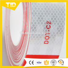 Red And White DOT-C2 Reflective Tape