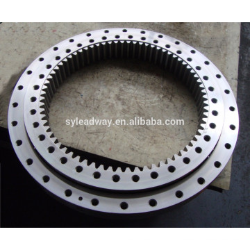 Hardness excavator turntable bearing for harvester combine