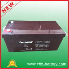Bateria solar acidificada ao chumbo de alta qualidade de 12V 200ah AGM