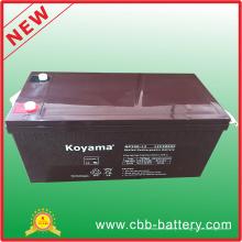 Высокое качество 12 В 200ah свинцово-кислотных AGM солнечная батарея