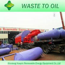 10 ton unilt converting waste plastic to fuel oil plant