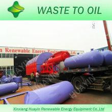 10 ton unilt convertendo resíduos plásticos em planta de óleo combustível