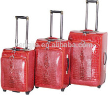 PU portable trolley luggages bag case