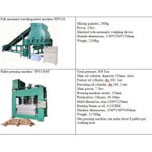 China gepresste Holzpalette Produktionslinie