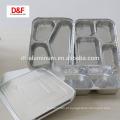 Recipiente descartável de tamanho completo / alumínio dividido