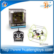 Hot sale Climbing rc quadcopter kit,mini rc intruder ufo flying quadcopter H125204
