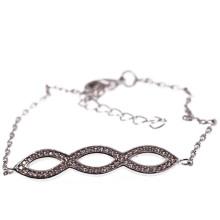 Подарок браслета стерлингового серебра ювелирных изделий способа (KT3008)