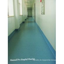 Innenhomogenes / PVC-Krankenhaus und medizinischer Boden