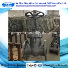Válvulas de la puerta del gust aceite y gasoducto, válvula de puerta dúctil del hierro