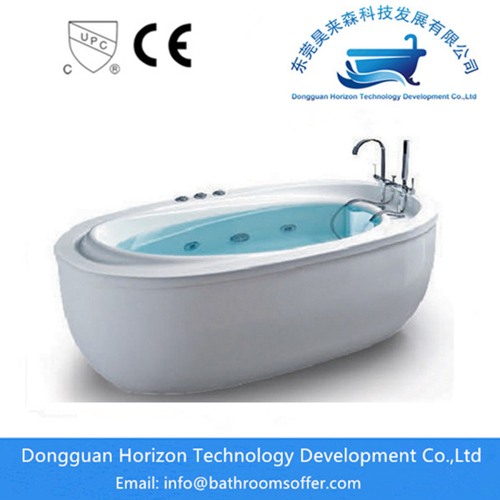 China Standing alone soaker tubs with jets Manufacturers