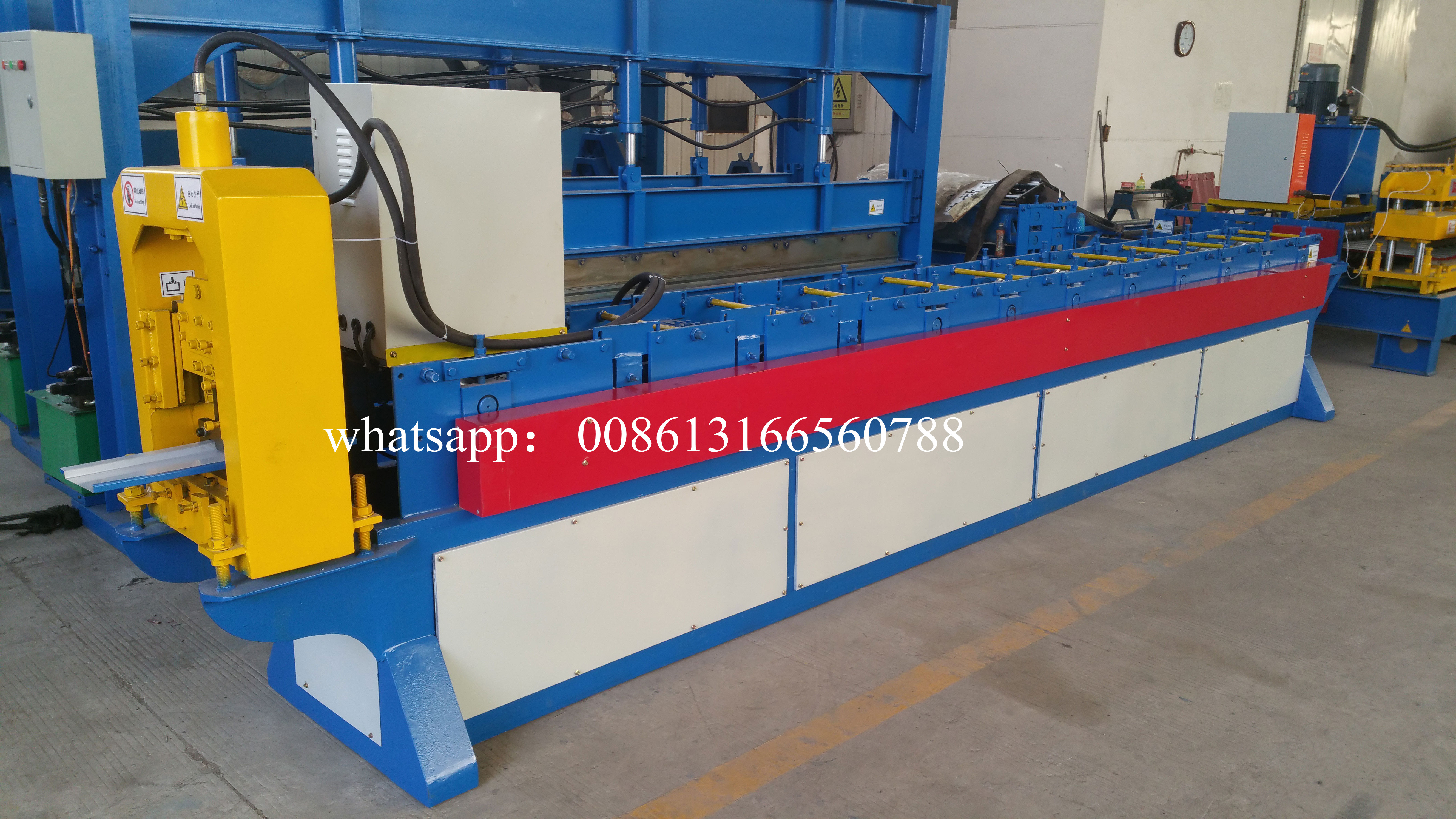 galvanized ibr steel wall panel forming machine