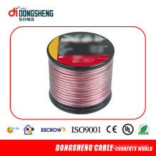 Red Speaker Wire with Oxygen-Free Copper or CCA Conductor