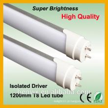 Melhor desempenho 80Ra 18w 120 centímetros tubo conduzido essencial
