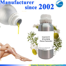 Hot sale & hot cake high quality pure organic german chamomile essential oil with reasonable price and fast delivery !!