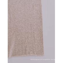 Recuperação confortável algodão rolo Jersey Lycra tecido