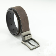 Hot sale for Dress Leather Belt Mens Classic Genuine Cow Leather Jean Belt export to Heard and Mc Donald Islands Wholesale