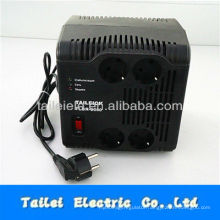 2000w AC relay control voltage regulator of Euro socket