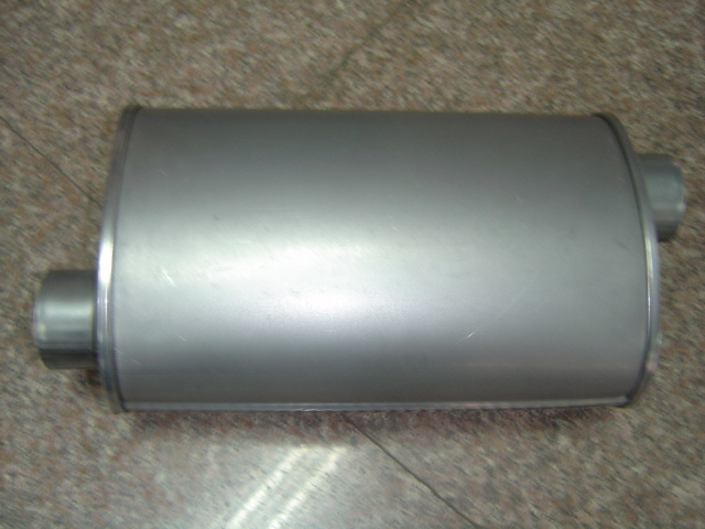 Oval Muffler With Spoggits