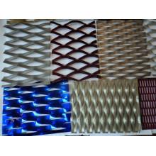 Malla expandida de aluminio para decorativos
