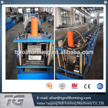 Newest type Manual or Hydraulic Gutter Roll Forming Machine For Rainwater made in China with low price