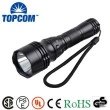 XML T6 LED Plongée Lampe de poche Torche, Plongée Puissante lampe de poche LED étanche, plongée sous-marine rechargeable