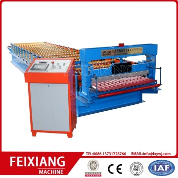 IBR Corrugate sheet cold roll forming machine