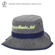 Sombrero de cubo de algodón Sombrero de pesca de algodón Sombrero de pescador Sombrero de pescador Sombrero de ocio Sombrero lavado de sombrero teñido de pigmento
