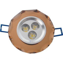2013 LED plastic ceiling light , upscale hotel lighting