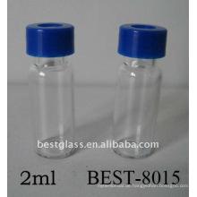 1,5 ml / 2 ml schraube autosampler fläschchen, hplc autosampler vial, klar autosampler fläschchen