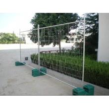 Valla soldada de alambre galvanizado en Temportary