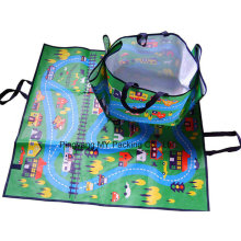 Advertising Non Toxic PP Foldable Leisure Waterproof Beach Picnic Mat