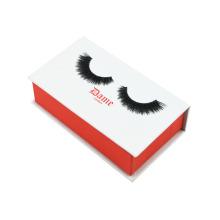 Caja de pestañas falsas en forma de libro Caja de empaquetado de cosméticos