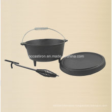 4.5qt Preseasoned Cast Iron Dutch Oven Supplier in China