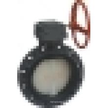 Válvula de mariposa del engranaje del gusano (D371X-6S), válvula de mariposa de la oblea