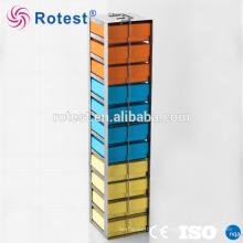 Congeladores criogénicos verticales para congelador en el pecho para colocar cajas de crio
