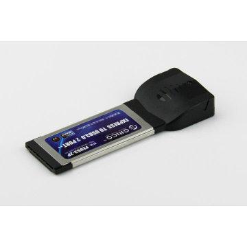 ORICO ENUS3-2P Ordinateur portable 2 ports Carte USB3.0 Express Carte mémoire 34 mm Express Card à USB 3.0 Adapter
