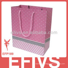 2014 colorful cardboard jewelry gift bag for wholesale