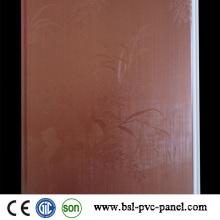 Holzfarbe Laminiertes PVC-Wandpaneel 2015 Hotselling in Indien Pakistan