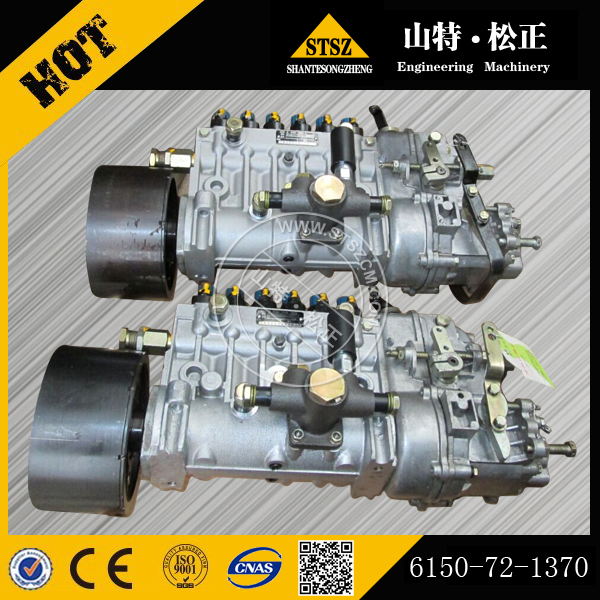 6d125e 2a 45 Injection Pump Ass Y 6150-72-1370