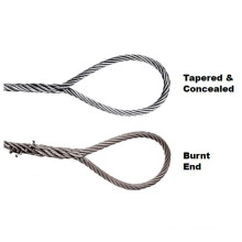 Single-Part Body Hand Spliced Wire Rope Sling